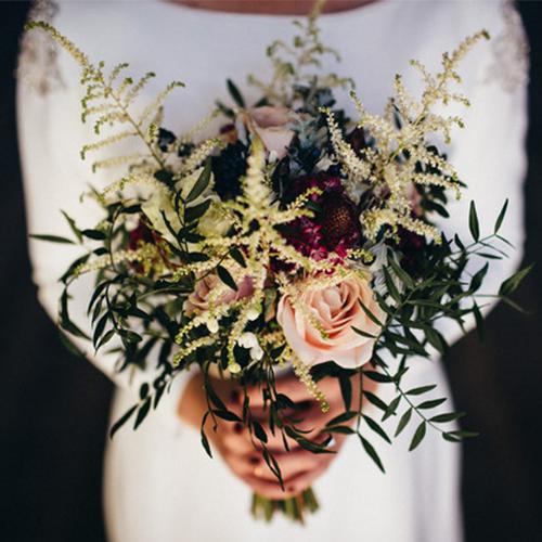 20 Elegantes ramos de novia, tendencia 2019
