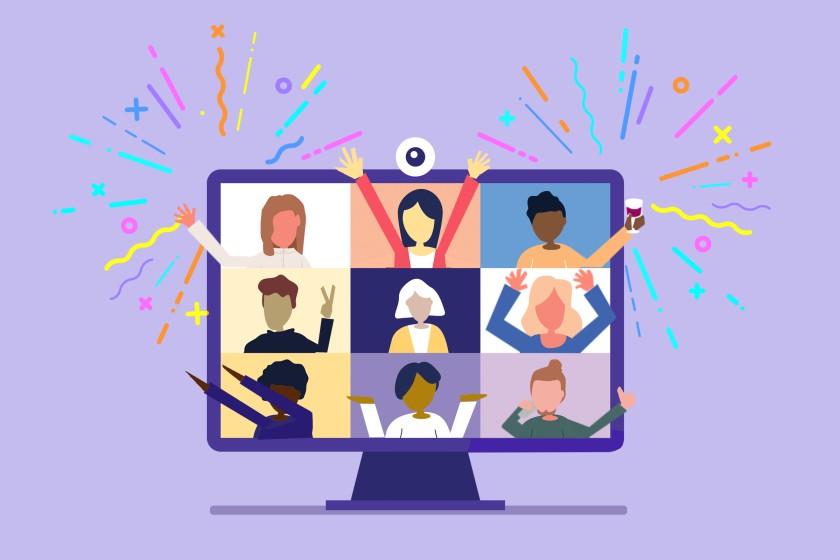 Hacer fiesta virtual en tiempos de pandemia